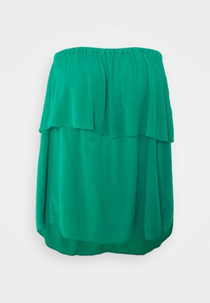 PULL ON CRINKLE BARDOT - Blouse - green