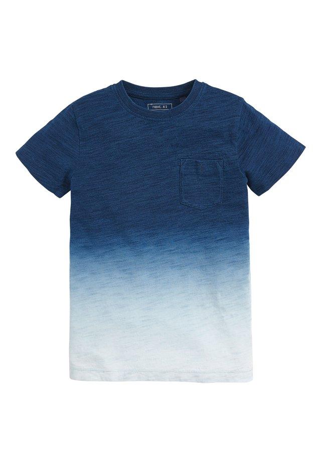 INDIGO DIP DYE  - T-shirt print - blue