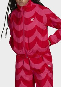 adidas Originals - X MARIMEKKO - Veste de survêtement - vivid red/team real magenta - 3