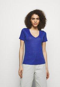 CLOSED - WOMENS DELETION LIST - Basic T-shirt - cobalt blue - 0