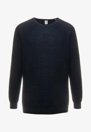 CREW NECK - Sweter - blue