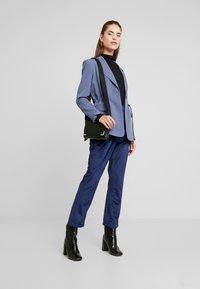 Fashion Union - ELVIS TROUSER - Trousers - navy - 1