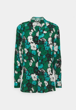 SHIRT - Button-down blouse - black