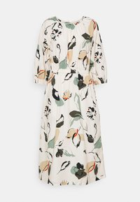 mine to five TOM TAILOR - DRESS MIDI PUFFED SLEEVES - Day dress - multi coloured - 0