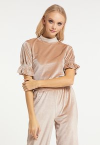 myMo at night - Blouse - beige - 0