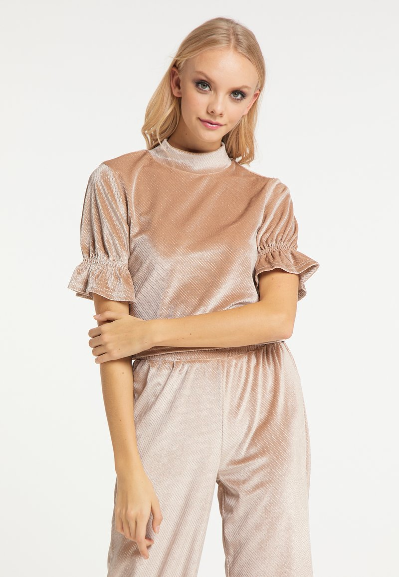 myMo at night - Blouse - beige