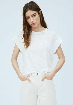 CLEO - Basic T-shirt - blanco off