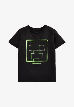 MINECRAFT T-SHIRT - Print T-shirt - black
