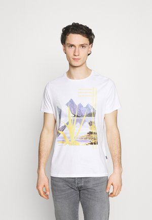 TEE - T-shirt con stampa - snow white