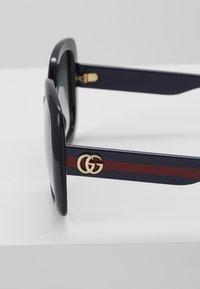 Gucci - Sluneční brýle - black/blue/grey - 2