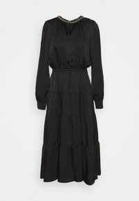 MICHAEL Michael Kors - CHAIN TIERED DRESS - Vestito lungo - black - 6