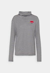 Long sleeved top - bianco/nero