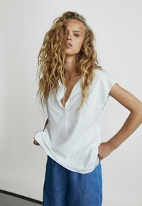 Massimo Dutti - T-shirts basic - white - 0
