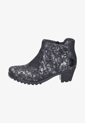 Ankle boots - schwarz-metallic/black
