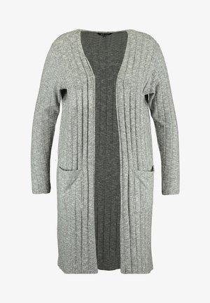 VEST OPENVALLEND - Cardigan - grey