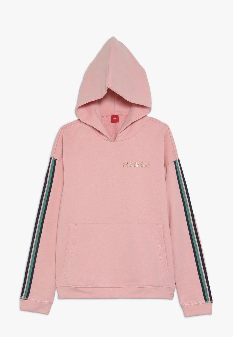 s.Oliver - LANGARM - Hoodie - light pink