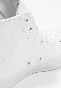 Converse - CHUCK TAYLOR ALL STAR HI - Høye joggesko - blanc - 5