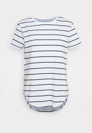 SADDLE HEM - Basic T-shirt - off-white