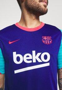 Nike Performance - FC BARCELONA  - Pelipaita - deep royal blue/light fusion red - 5