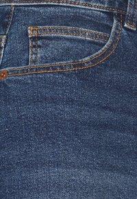 PIECES Tall - PCPACY  - Denim shorts - medium blue denim - 2