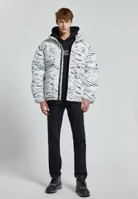 PULL&BEAR - Winter jacket - off-white - 1
