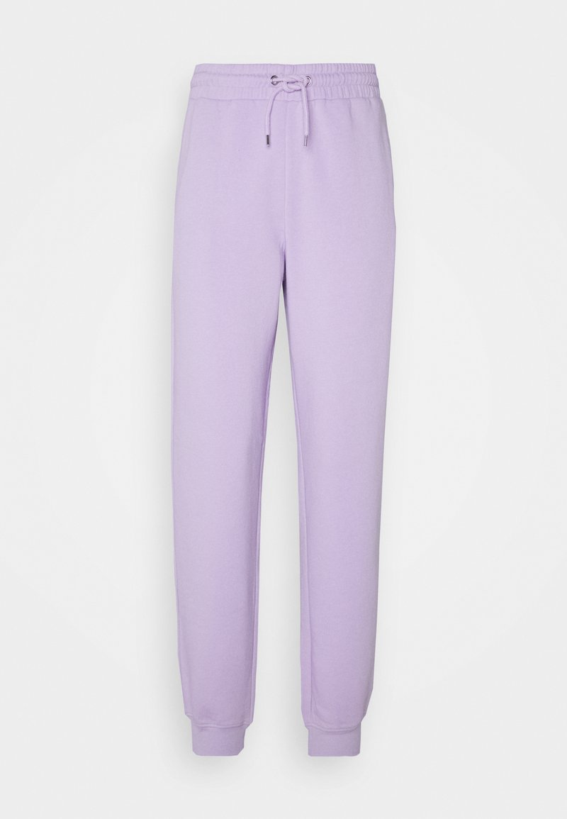 Monki - KARDI PANTS - Tracksuit bottoms - lilac