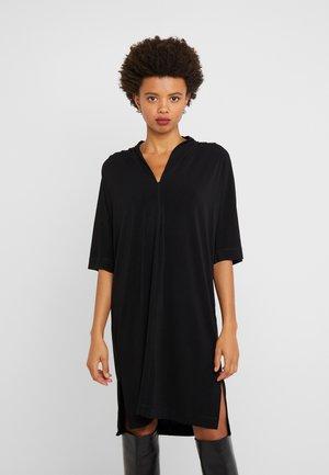 BIJOU - Jersey dress - black