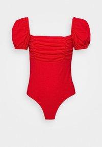 Fashion Union Tall - DEIDRE - T-shirt basique - red - 0
