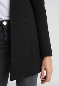 Noisy May - NMREKA LONG - Krátký kabát - black - 4