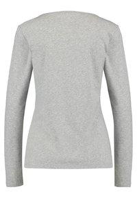 Marc O'Polo - Long sleeved top - silver - 1