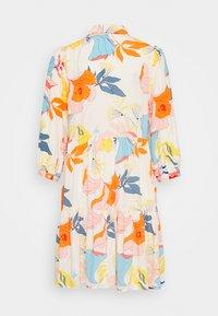 YAS - YASERIKA DRESS - Skjortekjole - eggnog - 1