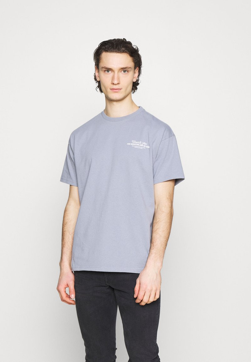 Dr.Denim - TROOPER TEE - Print T-shirt - shark