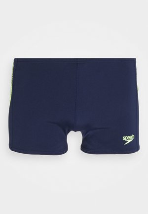 PLACEMENT ASH - Swimming trunks - navy/bright zest