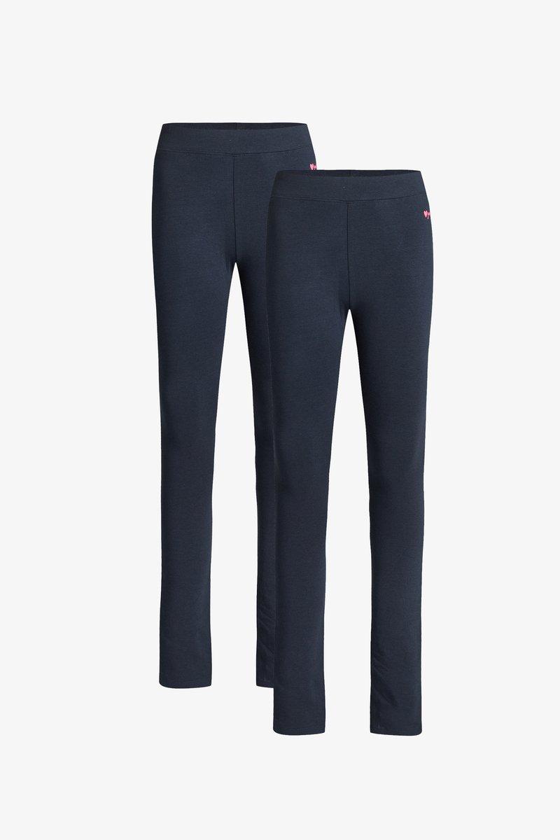 WE Fashion - 2 PACK - Leggings - dark blue