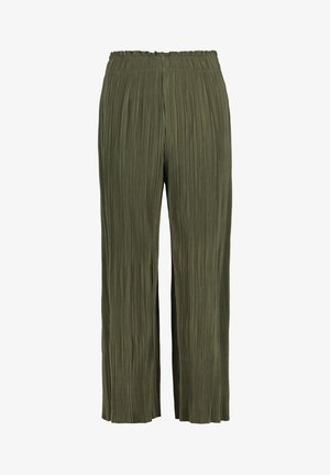 Trousers - dusty olive