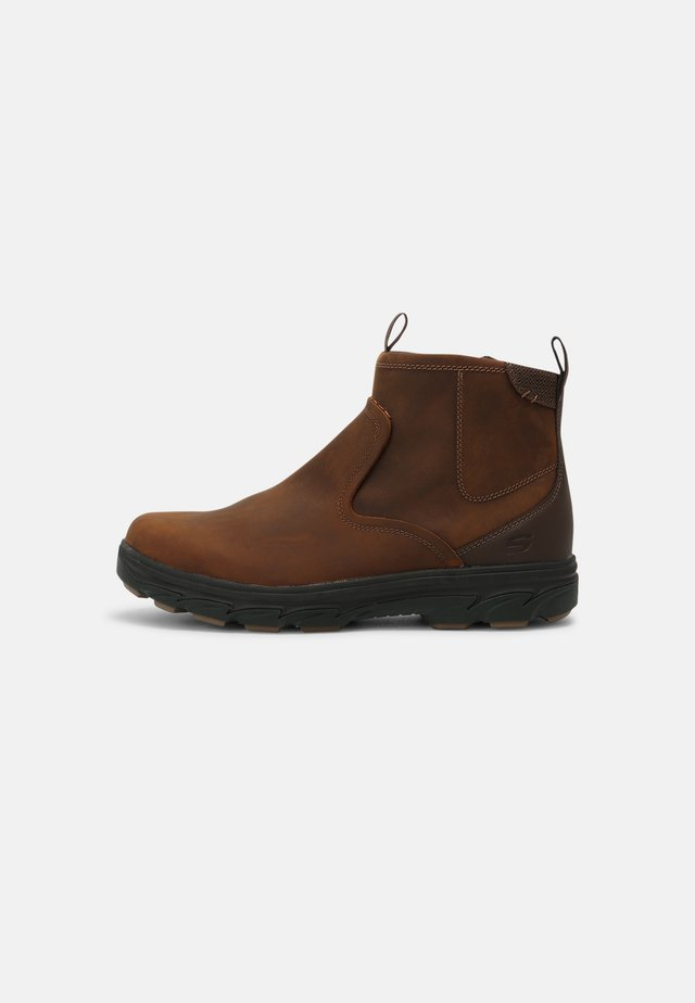 RESMENT KORVER - Classic ankle boots - dark brown