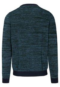 Basefield - MIT STRUKTURMUSTER - Sweatshirt - blau - 1