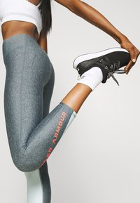 Under Armour - ANKLE CROP - Punčochy - charcoal light heather - 3