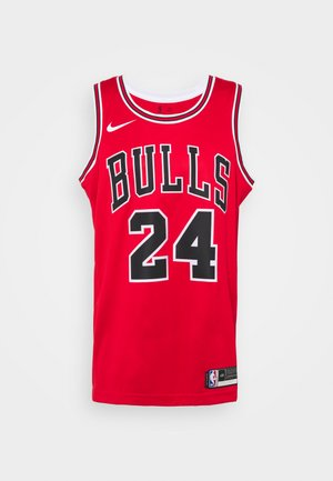 NBA LAURI MARKKANEN CHICAGO BULLS SWINGMAN - Club wear - university red/white/black