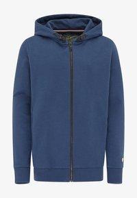 Petrol Industries - Zip-up hoodie - petrol blue - 0