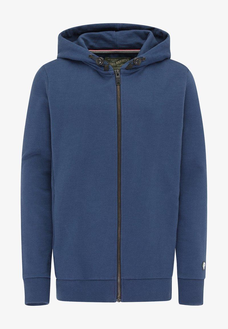 Petrol Industries - Zip-up hoodie - petrol blue