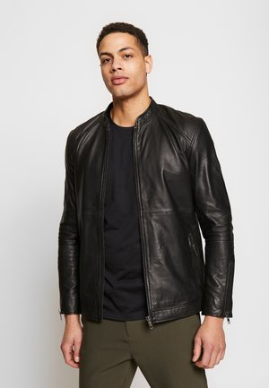 STARSHIP JACKET  - Leather jacket - black