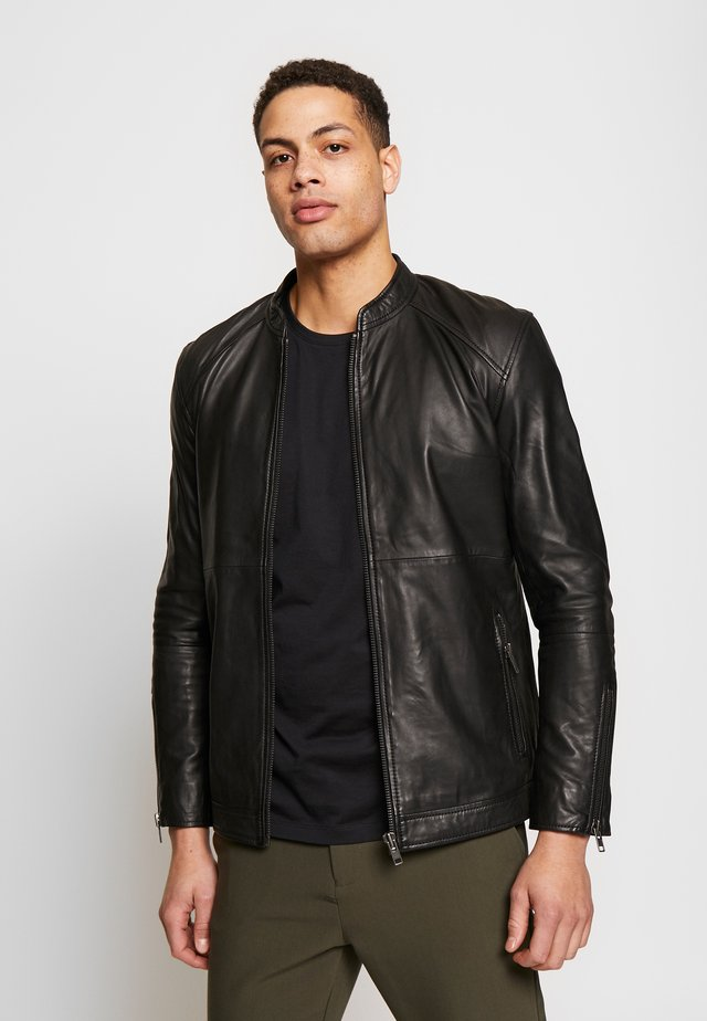 STARSHIP JACKET  - Veste en cuir - black