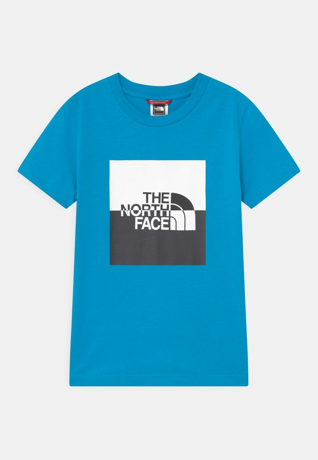 YOUTH HALF DOME UNISEX - Print T-shirt - meridian blue/black/white