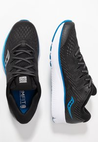 Saucony - RIDE ISO 2 - Neutrale løbesko - black/blue - 1