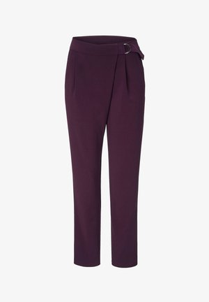 Trousers - pflaume