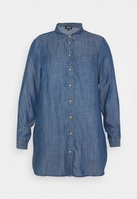 CAPSULE by Simply Be - Button-down blouse - dark blue - 3