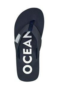 MADSea - Pool shoes - dunkelblau/weiß - 1