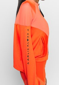 adidas Performance - COVER UP - Trainingsjacke - active orange/black - 3