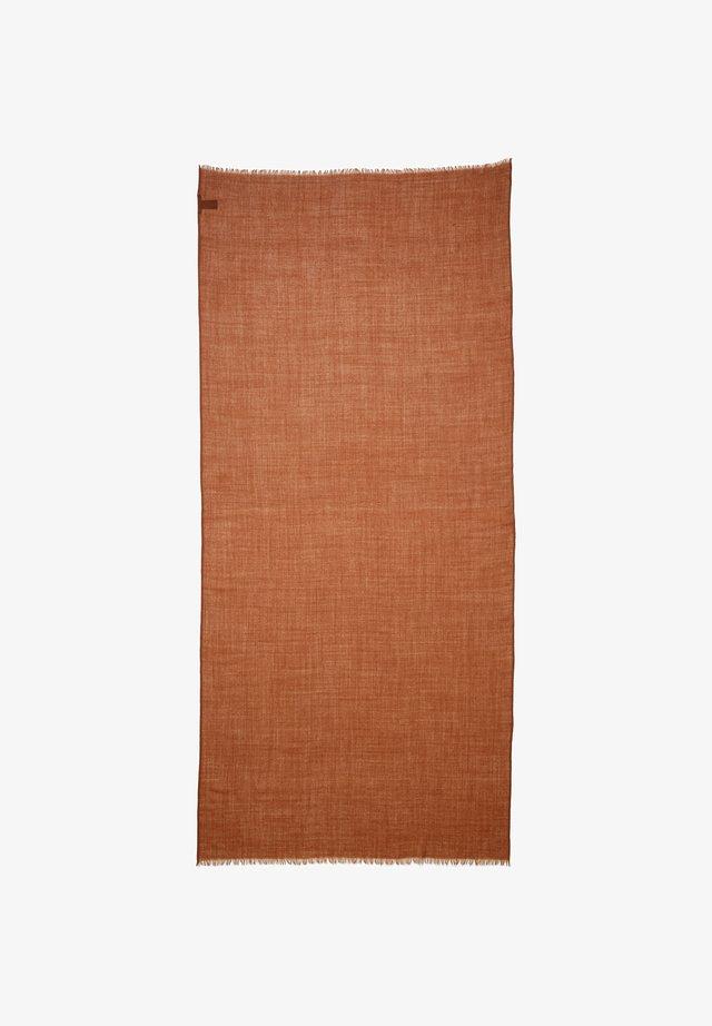 Scarf - chestnut brown